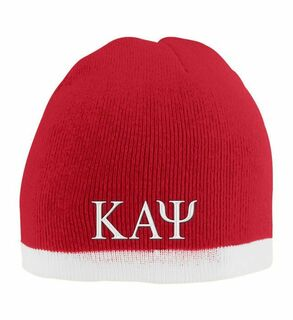 Kappa Alpha Psi Two Tone Knit Beanie