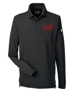Kappa Alpha Psi Under Armour�  Men's Performance Long Sleeve Fraternity Polo