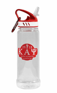 Kappa Alpha Psi Water Bottle W/Carabiner Hook