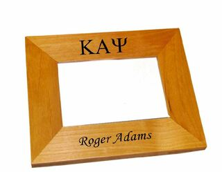 Kappa Alpha Psi Wood Picture Frame