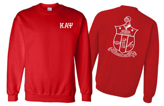 Kappa Alpha Psi World Famous Crest - Shield Printed Crewneck Sweatshirt- $25!