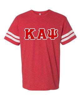 Kappa Alpha Psi World Famous Greek Twill Football Fine Jersey Tee
