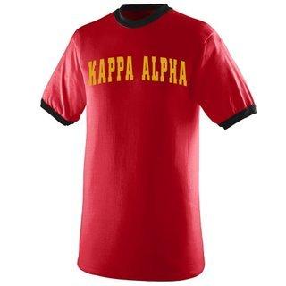 Kappa Alpha Ringer T-shirt