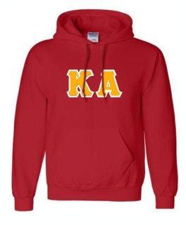 Kappa Alpha Sewn Lettered Sweatshirts