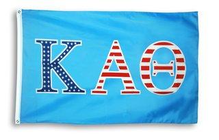 Kappa Alpha Theta 3 X 5 USA Flag