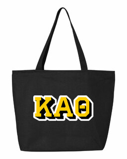 Kappa Alpha Theta 3D Letter Tote Bag