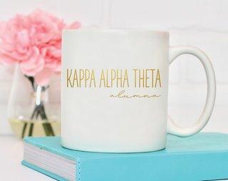 Kappa Alpha Theta Alumna Mug