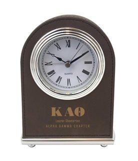 Kappa Alpha Theta Arch Desk Clock