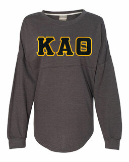 DISCOUNT-Kappa Alpha Theta Athena French Terry Dolman Sleeve Sweatshirt