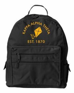 DISCOUNT-Kappa Alpha Theta Mascot Backpack
