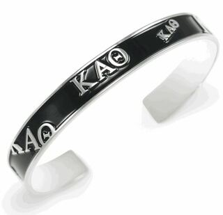 Kappa Alpha Theta Bangle (Black)