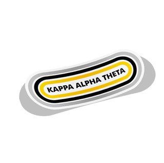 Kappa Alpha Theta Capsule Decal Sticker