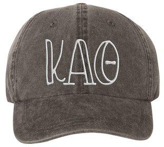 Kappa Alpha Theta Carson Greek Letter Hats