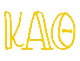 Kappa Alpha Theta Carson Greek Sticker