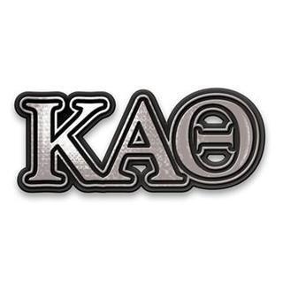 Kappa Alpha Theta Chrome Car Emblem!