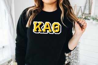 Kappa Alpha Theta City Greek Sweatshirt