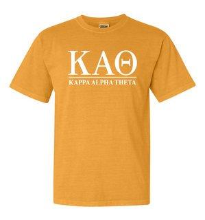 Kappa Alpha Theta Comfort Colors Heavyweight T-Shirt