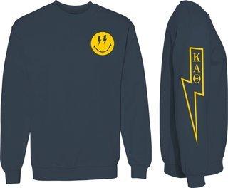 Kappa Alpha Theta Comfort Colors Lightning Crew Sweatshirt