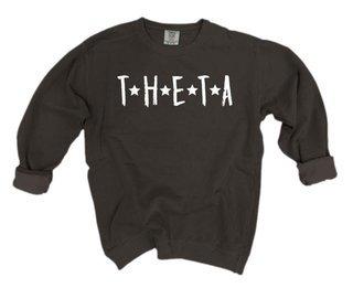 Kappa Alpha Theta Comfort Colors Starry Night Crew