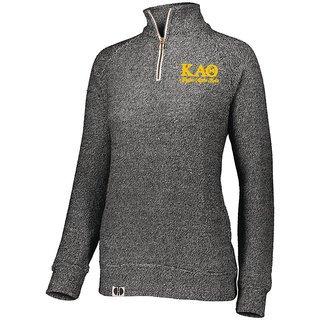 Kappa Alpha Theta Cuddly 1/4 Zip Pullover