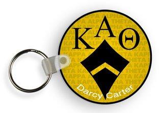 Kappa Alpha Theta Custom Mascot Keychains