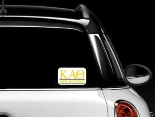 Kappa Alpha Theta Custom Sticker - Personalized