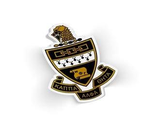 Kappa Alpha Theta Die Cut Crest Sticker