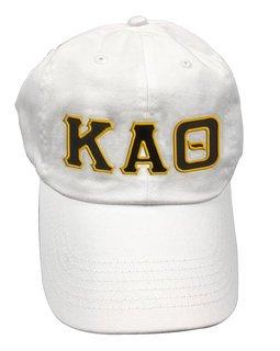 Kappa Alpha Theta Double Greek Letter Cap