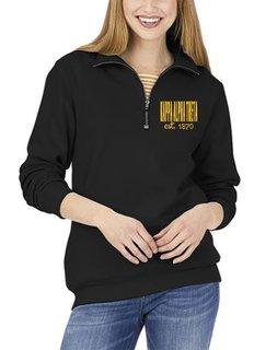 Kappa Alpha Theta Established Crosswind Quarter Zip Sweatshirt