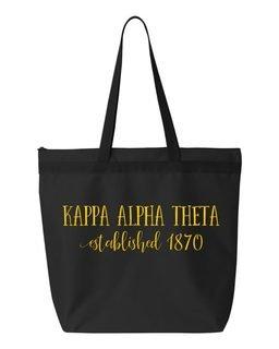 Kappa Alpha Theta Established Tote bag