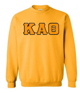 Kappa Alpha Theta Greek Crewneck- MADE FAST!