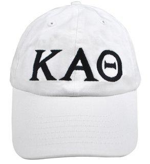 Kappa Alpha Theta Greek Letter Hat
