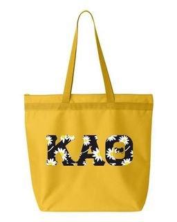 Kappa Alpha Theta Greek Letter Liberty Bag