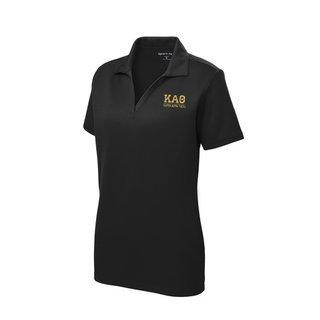 Kappa Alpha Theta Greek Letter Polo Shirts
