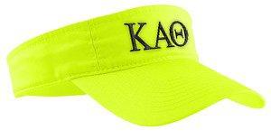 Kappa Alpha Theta Greek Letter Visor