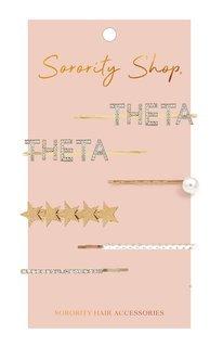 Kappa Alpha Theta Hair Clips