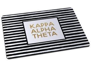Kappa Alpha Theta Striped Mousepads