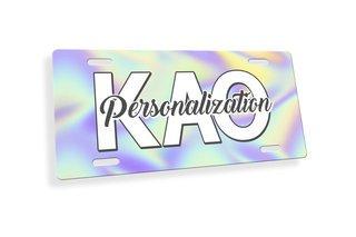 Kappa Alpha Theta Holla License Plate