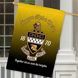 Kappa Alpha Theta House Flag