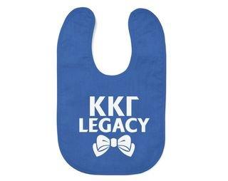 Kappa Kappa Gamma Legacy Baby Bib