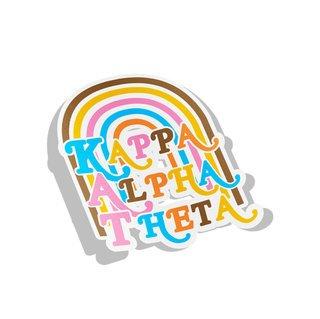 Kappa Alpha Theta Joy Decal Sticker