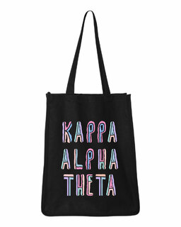 Kappa Alpha Theta Jumbo All In Tote Bag