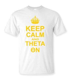Kappa Alpha Theta Keep Calm T-Shirts