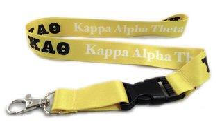 Kappa Alpha Theta Lanyard