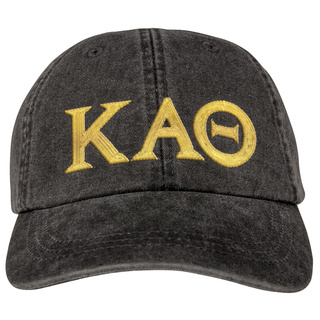 Kappa Alpha Theta Lettered Premium Pastel Hat