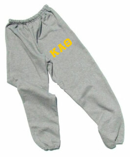 Kappa Alpha Theta Lettered Thigh Sweatpants