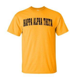 Kappa Alpha Theta Letterman T-Shirts
