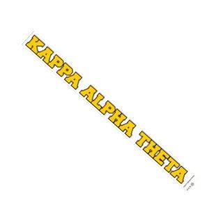 Kappa Alpha Theta Long Window Decals Stickers