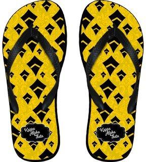 Kappa Alpha Theta Mascot Color Flip Flops