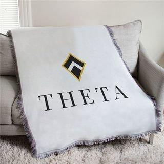 Kappa Alpha Theta Mascot Afghan Blanket Throw